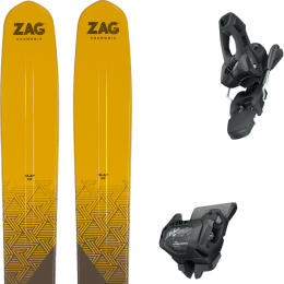 ZAG SLAP 112 LTD HAGLÖFS 21 + TYROLIA ATTACK² 11 GW W/O BRAKE [L] SOLID BLACK 20