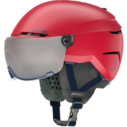 ATOMIC SAVOR VISOR JR RED 21