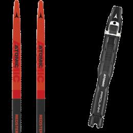 ATOMIC REDSTER S9 MED RED/JET BLACK/W 21 + ATOMIC PROLINK PRO SKATE BLACK-WHITE 21