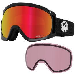 Protection du skieur DRAGON DRAGON D3 OTG SPLIT/LL RED ION+LL LIGHT ROSE 21 - Ekosport