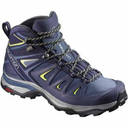 SALOMON X ULTRA 3 MID GORE-TEX W CROWN BLUE/EVENING BLUE/SUNNY LIME 21
