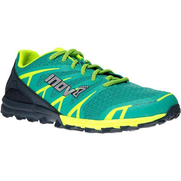 INOV-8 Chaussure trail Trailtalon 235 W Teal/navy/yellow Femme Vert/Jaune taille 4