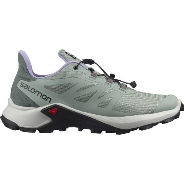 SALOMON Chaussure trail Supercross 3 W Green Milieu/lunar Rock/lavender Femme Vert taille 3.5
