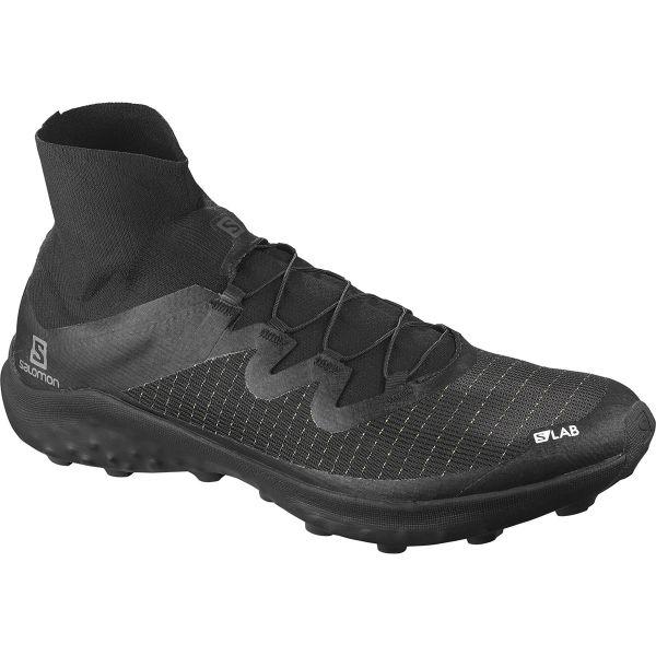 SALOMON Chaussure trail S/lab Cross Black/white/black Homme Noir taille \