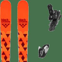 Pack ski alpin BLACK CROWS BLACK CROWS MAGNIS 20 + SALOMON L7 GW N BLACK/WHITE B100 22 - Ekosport