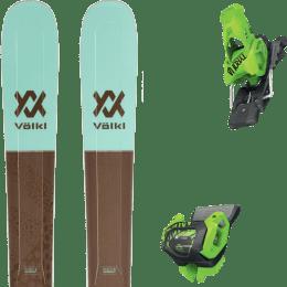 Pack ski alpin VOLKL VOLKL SECRET 102 20 + TYROLIA ATTACK² 13 GW BRAKE 110 [A] GREEN 20 - Ekosport