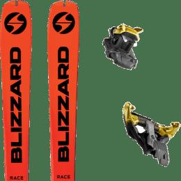 Ski randonnée BLIZZARD BLIZZARD ZERO G RACE 21 + DYNAFIT TLT SPEEDFIT 10 ALU YELLOW/BLACK 21 - Ekosport