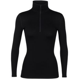 ICEBREAKER 260 TECH LS HALF ZIP W BLACK 21