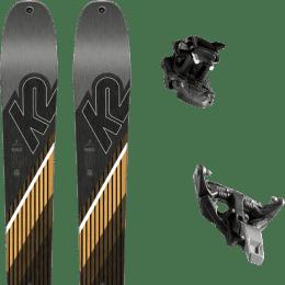 Pack ski+fix K2 K2 WAYBACK 96 SMU 22 + DYNAFIT TLT SPEED 12 BLACK 21 - Ekosport