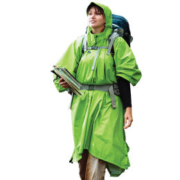 SEA TO SUMMIT PONCHO THERMOCOLLE 70D GREEN 21