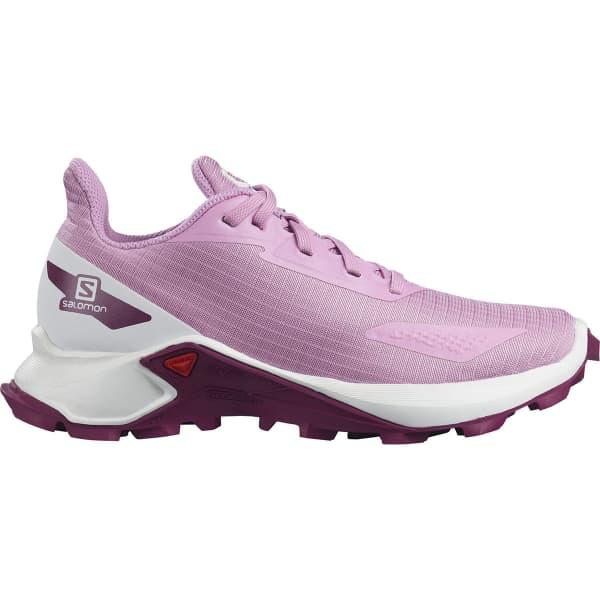 SALOMON Chaussure trail Alphacross Blast J Orchid/white/plum Caspia Enfant Violet taille 33