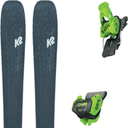 Boutique K2 K2 MINDBENDER 98 TI ALLIANCE 20 + TYROLIA ATTACK² 13 GW BRAKE 110 [A] GREEN 20 - Ekosport
