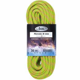 BEAL RANDO 8MMX20M GOLDEN DRY YELLOW 21