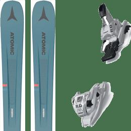 Pack ski alpin ATOMIC ATOMIC VANTAGE 97 C BLUE/GREY 21 + MARKER 11.0 TCX WHITE 20 - Ekosport