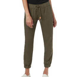 TENTREE W COLWOOD JOGGER OLIVE NIGHT GREEN 21