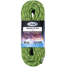 BEAL RANDO 8MM X 20M GREEN 21