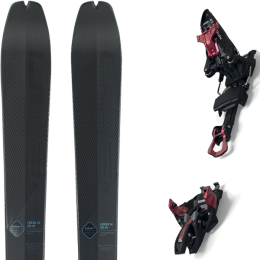 ELAN IBEX 94 CARBON XLT 20 + MARKER KINGPIN 13 75-100MM BLACK/RED 21