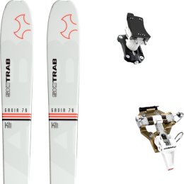 SKI TRAB GAVIA 76 21 + DYNAFIT SPEED TURN 2.0 BRONZE/BLACK 21