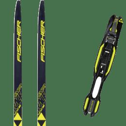 Ski de fond FISCHER FISCHER TWIN SKIN RACE JR IFP 19 + FISCHER RACE CLASSIC JR IFP 22 - Ekosport
