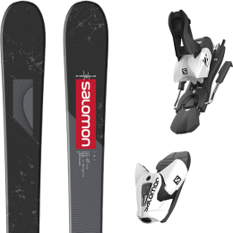 SALOMON TNT BLACK/GREY/RED 20 + SALOMON Z12 B100 WHITE/BLACK 21