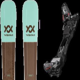 Boutique VOLKL VOLKL SECRET 102 20 + MARKER F12 TOUR EPF BLACK/ANTHRACITE 21 - Ekosport