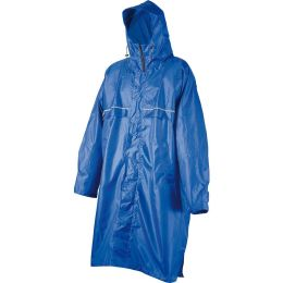 CAMP PONCHO RAIN STOP CAGOULE FRONT ZIP BLUE 21