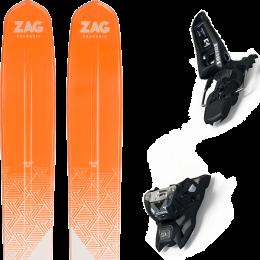 ZAG SLAP 112 21 + MARKER SQUIRE 11 ID BLACK 21