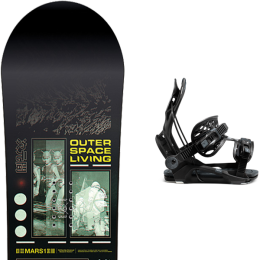 CAPITA OUTERSPACE LIVING 21 + FLOW FENIX FUSION  BLACK 21