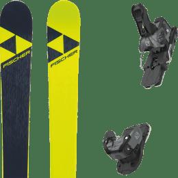 Pack ski alpin FISCHER FISCHER NIGHTSTICK 21 + SALOMON WARDEN MNC 13 N BLACK/GREY 20 - Ekosport