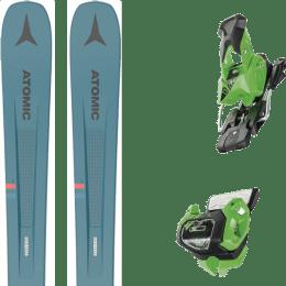 Pack ski alpin ATOMIC ATOMIC VANTAGE 97 C BLUE/GREY 21 + TYROLIA ATTACK² 13 GW BRAKE 95 [A] GREEN 19 - Ekosport