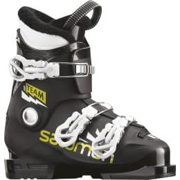 Chaussure ski alpin SALOMON SALOMON TEAM T3 BLACK/ACID GREEN/WH 20 - Ekosport