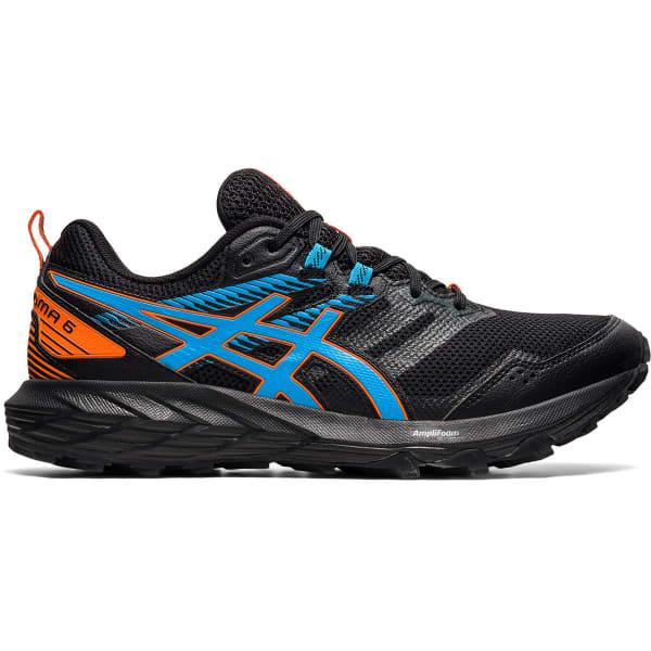 ASICS Chaussure trail Gel-sonoma 6 Black/digital Aqua Homme Noir/Bleu taille 7