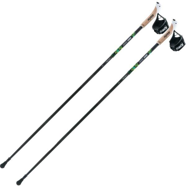SWIX Bâton de trail Star Trail Pro Homme Gris/Vert taille 120