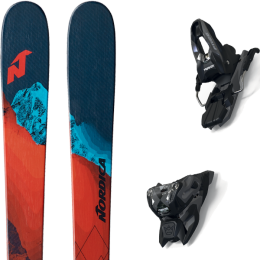 NORDICA ENFORCER 80 S 21 + MARKER FREE TEN ID BLACK/ANTHRACITE (+SCREW KIT) 21