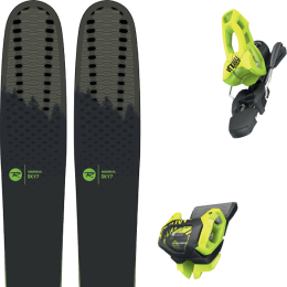 Pack ski alpin ROSSIGNOL ROSSIGNOL SKY 7 HD 20 + TYROLIA ATTACK² 11 GW BRAKE 100 [L] FLASH YELLOW 20 - Ekosport