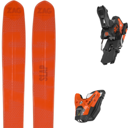 ZAG SLAP 112 20 + SALOMON STH2 WTR 13 N ORANGE/BLACK 21