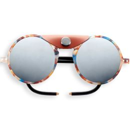 IZIPIZI SUN GLACIER BLUE TORTOISE SOFT BROWN SHIELDS 21
