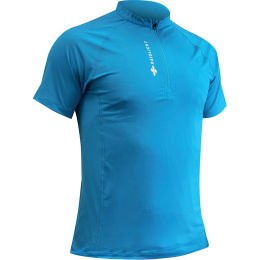 RAIDLIGHT ACTIV RUN SS SHIRT MID ZIP BLUE 21