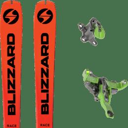 Ski randonnée BLIZZARD BLIZZARD ZERO G RACE 21 + ATK FIXATION REVOLUTION 21 - Ekosport