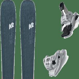 Pack ski alpin K2 K2 MINDBENDER 98 TI ALLIANCE 20 + MARKER 11.0 TCX WHITE 20 - Ekosport