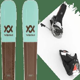 Pack ski alpin VOLKL VOLKL SECRET 102 20 + LOOK PIVOT 14 GW B115 BLACK/ICON 22 - Ekosport