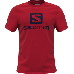 SALOMON OUTLIFE LOGO SS TEE M FIERY RED 21