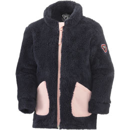 DEGRÉ 7 FLUFFY VEST POLAIRE KID ROSE 21