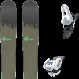Pack ski alpin ROSSIGNOL ROSSIGNOL SMASH 7 20 + TYROLIA ATTACK² 11 GW BRAKE 100 [L] SOLID WHITE NAVY 20 - Ekosport