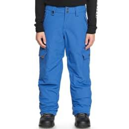 Boutique QUIKSILVER QUIKSILVER PORTER YOUTH PT DAPHNE BLUE 19 - Ekosport