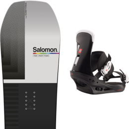 SALOMON HUCK KNIFE 21 + BURTON FREESTYLE BLACK 21