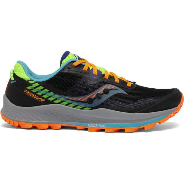 SAUCONY Chaussure trail Peregrine 11 Future/black Homme Noir/Orange taille 8.5