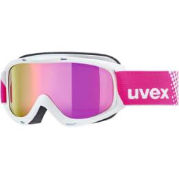 Boutique UVEX UVEX SLIDER FM WHITE MIRROR PINK LASERGOLD LITE 21 - Ekosport