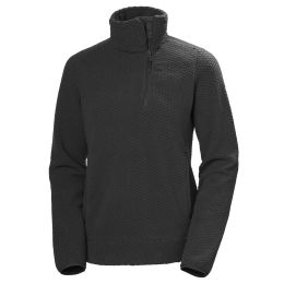 HELLY HANSEN W LYRA 1/2 ZIP EBONY 21