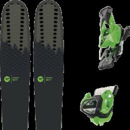 Pack ski alpin ROSSIGNOL ROSSIGNOL SKY 7 HD 20 + TYROLIA ATTACK² 13 GW BRAKE 95 [A] GREEN 19 - Ekosport